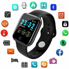 Montre Connectée Smart Intelligente Homme Femme Sport Android Samsung Bracelet