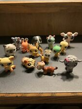 RARE LITTLEST PET SHOP DOGS GUINEA POG COW BIRD SEA HORSE LOT 14 Lobster Sheep