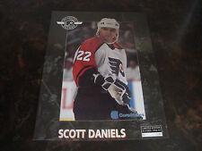 Phila. Flyers--Scott Daniels--Souvenir Game Day Photo--Limited /4000--1996--VHTF