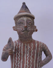 Large Set- Fine Pre-Columbian Pottery Male - Female Figures - Pair