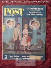 Saturday Evening POST July 28 August 4 1962 AMOS SEWELL HAYLEY MILLS