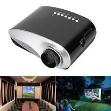 Full HD Home Cinema Theater Multimedia PC AV TV USB LED Projector VGA HD/ MI USB