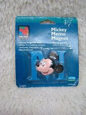Vintage Mickey Unlimited-Blue Mickey Memo Magnet, New in Package, Collectible