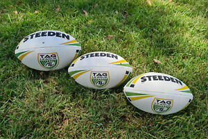 Genuine Steeden Rugby League Match Ball - Official Tag League™ Product
