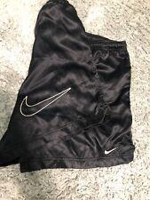 Vintage Nike Nylon Running Shorts L 90s Swoosh