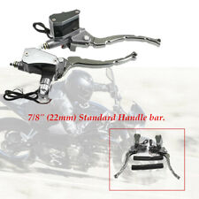 2×Motorcycle front Brake Handle Lever Master Cylinder Clutch Pump Left + Right
