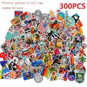 300 X Random Cool Vinyl Decal Graffiti Sticker Bomb Skate Laptop PVC Stickers UK