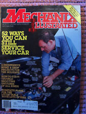 Mechanix Illustrated Mag, you can still service your car  Nov. 1982