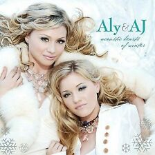 Aly & AJ : Acoustic Hearts of Winter CD DISC ONLY #58B