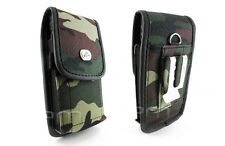 Camouflage Case Pouch for ATT Motorola ATRIX 3 HD, Verizon DROID RAZR MAXX XT912