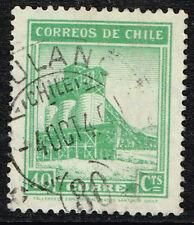 CHILE STAMP RPO RAILWAY CANCEL AMBULANCIA # 80