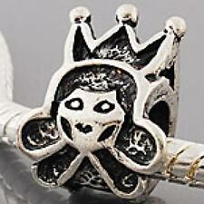 Queen Charm Bead for Silver Charm Bracelets ALL CHARMS 5 FOR 4 m1051