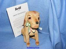 Steiff 1928 Replica Treff Dog Limited Edition EAN 402036