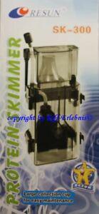 SK-300 Resun Eiweißabschäumer Nano Meerwasser Aquarien Mini Skimmer Abschäumer