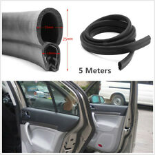 5M Universal Car Door Edge Trim Protector Auto Truck Dustproof Rubber Seal Strip
