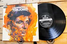 TOM JONES THE BODY AND SOUL OF TOM JONES LP 33T VINYLE EX COVER EX ORIGINAL 1973
