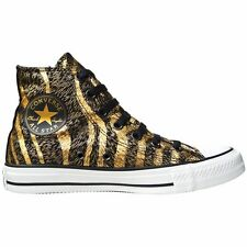CONVERSE ALL STAR CHUCKS SCHUHE EU 38 UK 5,5 GOLD BLACK LIMITED EDITION LEOPARD