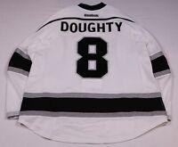 LA Kings #8 Drew Doughty Game-Used Away Jersey 2nd Set w/Bob Miller 44 Patch