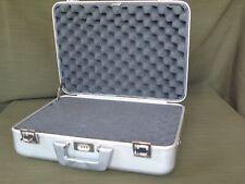 ZERO HALLIBURTON Aluminum Camera / Photography #103 Case with New Factory Foam