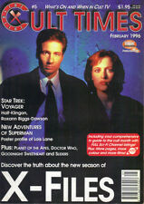 CULT TIMES No.5 - X-FILES DOCTOR WHO STAR TREK SUPERMAN GOODNIGHT SWEETHEART