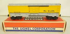 LIONEL #6464-650 SUPER CLEAN D&RGW RIO GRANDE BOX CAR-EX+ UN-RUN ORIG. IN BOX!