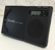 Sony D-1000 Discman 1bit DAC CD Compact Disc Player Alarm Clock Vintage Radio