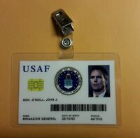 Stargate Command SG-1 ID Badge-Gen. Jack O'Neill cosplay prop costume