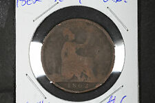 1862 Penny Great Britain - KM# 749.2
