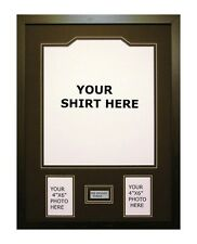 FRAME FOR YOUR SHIRT + FRONT MOUNT +FREE ENGRAVED PLAQUE WITH YOUR WORDING