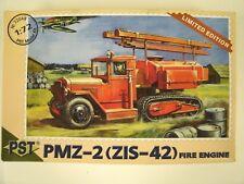 PST Limited Edition PMZ-2 (ZIS-42) Fire Engine 1:72 Scale Model Kit #72048
