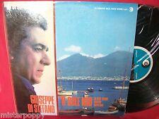 GIUSEPPE DI STEFANO O sole mio e altre celebri canzoni Napoletane LP 1960s MINT-
