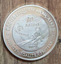 FRANKREICH 10 Euro 2009 Vancouver 2010 900/1000 Silber Münze-Rar nur10.000 Proof