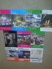 10x RETAIL WEEK professional retail magazine 2014- 2015 Interiors Specials NEW