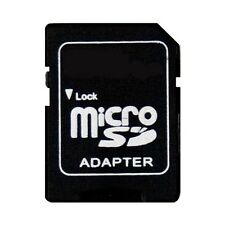 10x Micro SD to SD ADAPTER -1GB 2GB 4GB 8GB 16GB 32GB