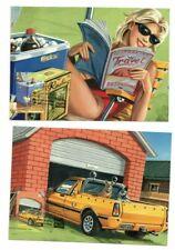 2009 Australia Inventive Australia Maxi Cards Set of 5 Clean