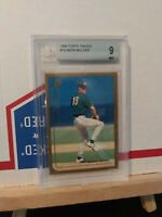 Mark Mulder 1999 Topps chrome  Traded #T8 Rookie RC Oakland A's BGS 9 Mint