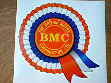 BMC Rosette Helmet Car Classic Retro Car Decal Sticker 1 off 150mm