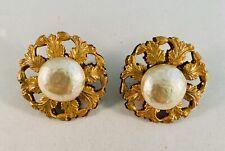 vintage miriam haskell earrings