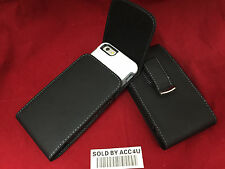 LEATHER HOLSTER CARRYING 360 BELT CLIP POUCH FOR IPHONE 7 PLUS COMMUTER CASE ON