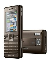Phone Sony Ericsson K770i Cyber - Shot Truffle Brown Braun Without Simlock