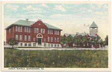 Public Schools in Quakertown PA Postcard