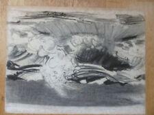 Abstrakte künstlerische Malerei im Expressionismus-Stil mit Öl-Verkäufer Kunsthändler