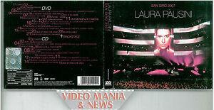 San Siro 2007, Laura Pausini - CD + DVD
