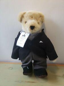 """North American Bear Downtown Abbey Groom Plush Teddy 2015 - 12"""" New"""