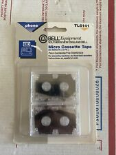 Vtg Bell Equipment Southern Phone Answering Machine Micro Cassette Tapes NIP 2