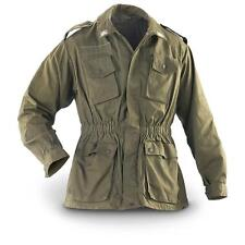 Italian Genuine Vintage Army Shirt Field Jacket green olive G1/G2