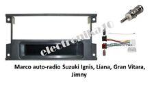 Marco montaje  auto-radio Suzuki Ignis, Liana, Gran Vitara Jimny  kit conexiones