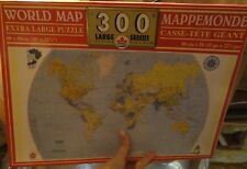 World Map 300 Piece Puzzle - Complete