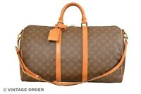 Louis Vuitton Monogram Keepall 50 Bandouliere Travel Bag Strap M41416 - YG01009