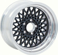 """16"""" X 8"""" Black GTA Style Alloy Wheel with 4-3/4"""" Backspacing and 0mm Offset"""
